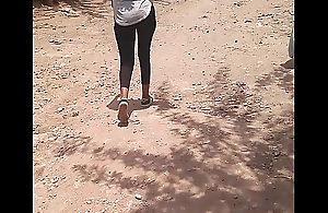 In the open ethiopian takings walking