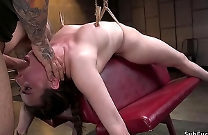 Natural spoil tormented and gangbanged
