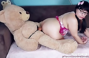 Play Time here Kiwwi - Teddy Bear Fuck!