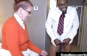 Black Load of shit Rome Waggish - Nerdy Anal with Perforator Reigh!