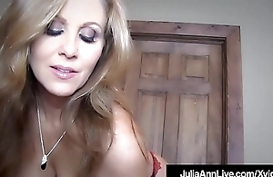 Get Your Bushwa Sucked By Milf Julia Ann In This POV Fantasy!