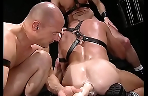 fist and bareback orgy