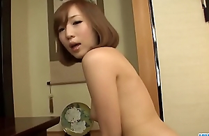 Slim Oriental doll, Mei Mizuhara, prepares for a long blowjob - More at 69avs com