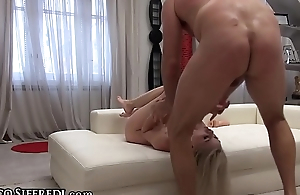 Rocco Siffredi'_s Cock in Crude Teen Ass &amp_ Dildo DP'_s her Pussy!