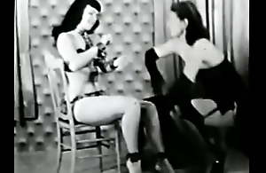 Bettie Page Enclosing Tied Up