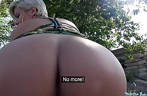 Public Agent Be in charge crazy MILF in hot sopping blowjob and nurture leman