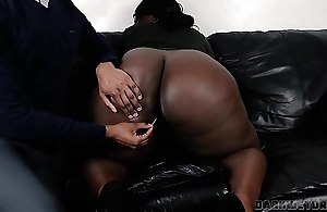 Big Black Booty BBW Cumming For An Try out