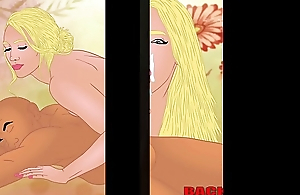Thick Ass Backalleytoonz big booty showcase of internet sexy ladies