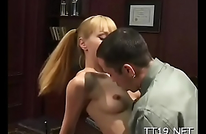 Hot big ass schoolgirl receives their way trimmed slit fucked roughly