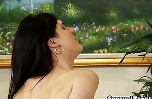 Cock energized tgirl seduces her lover