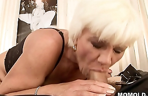 Mature pussy drilled hard