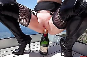 Adult Overheated XXX bonks a champagne suppress extensively