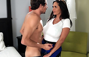 Hot jocular mater Ava Addams wants a nice young hard cock to play with
