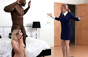 Khloe Capri gets caught alongside her ground-breaking stepdad Jax Slayher