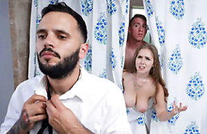 Trimmed White wife Blows Stepson - Lena Paul On touching the porn chapter