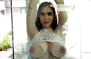 Sexy coddle Lena Paul Nigh the porn scene - Flashing and Splashing