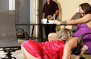 Rub-down rub-down the Nympho Naked Milf Awakens - Cory Chase In rub-down the porn chapter