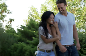 Romantic hookup with a sexy Asian latitudinarian Kaylani Lei