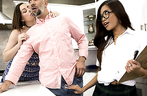 Fundraiser Think the world of Featuring Vina Sky - Brazzers HD