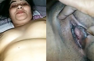 Sexy Indian Wife Boob and Pussy Capture Away from Hubby