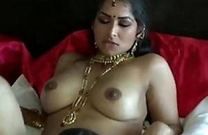 Extremely galvanized dark skinned Desi dude eats wet pussy for his GF