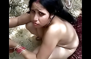 Indian Maid in Farm